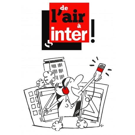 "Tee-shirt ""De l'air à France Inter"""
